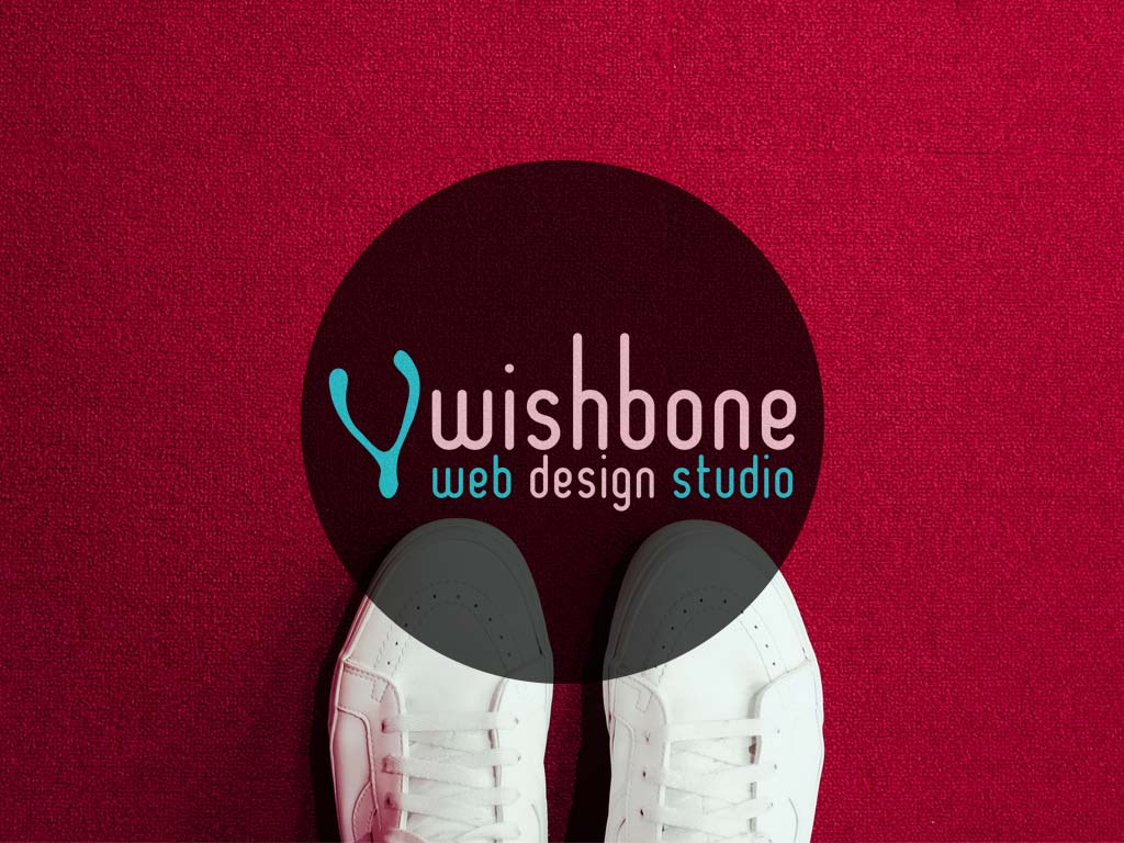 Wishbone web design portfolio image