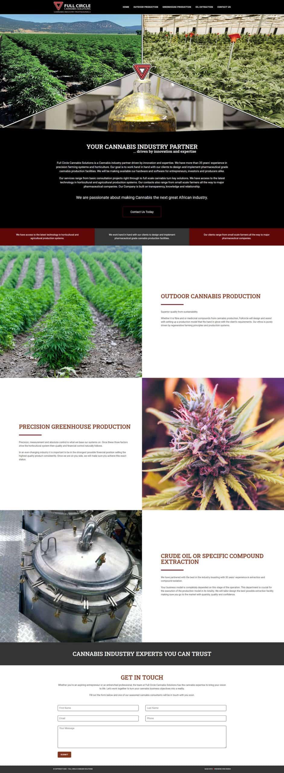 screenshot fullcirclecannabis